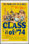 """Movie Posters:Sexploitation, The Class of '74 (General Film, 1972). One Sheet (27"""" X 41"""") andPhotos (5) (8"""" X 10""""). Sexploitation.. ... (Total: 6 Items)"""