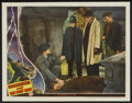 """Movie Posters:Horror, Frankenstein Meets the Wolf Man (Universal, 1943). Lobby Card (11""""X 14""""). Horror.. ..."""