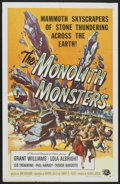 "Movie Posters:Science Fiction, The Monolith Monsters (Universal International, 1957). One Sheet (27"" X 41""). Science Fiction.. ..."