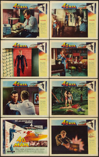 "4D Man (Universal International, 1959). Lobby Card Set of 8 (11"" X 14""). Science Fiction. ... (Total: 8 Items)"