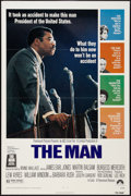 "Movie Posters:Black Films, The Man (Paramount, 1972). One Sheet (27"" X 41""). Black Films.. ..."
