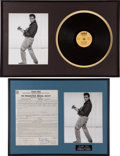 Music Memorabilia:Autographs and Signed Items, Duane Eddy and the Rebels Signed Contract for AmericanBandstand (1961).... (Total: 2 Items)