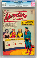 Silver Age (1956-1969):Superhero, Adventure Comics #247 (DC, 1958) CGC FN 6.0 Off-white to white pages....