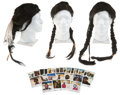 Movie/TV Memorabilia:Props, Dances With Wolves Wigs and Test Photos Archive.... (Total: 43 )