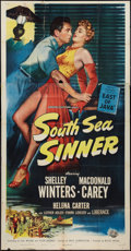 "Movie Posters:Adventure, South Sea Sinner (Universal International, 1949). Three Sheet (41""X 81""). Adventure.. ..."