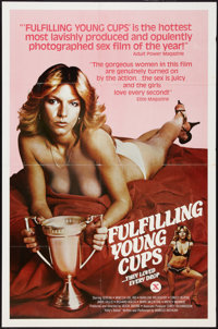 """Fulfilling Young Cups Lot (Unknown, 1979). One Sheets (2) (27"""" X 41""""). Adult. ... (Total: 2 Items)"""