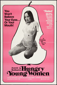"""Hungry Young Women Lot (Unknown, 1970). One Sheets (2) (27"""" X 41""""). Adult. ... (Total: 2 Items)"""