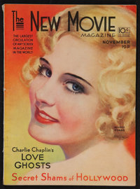 """The New Movie Magazine (Tower Magazines, Nov, 1931). Magazine (124 Pages, 8.75"""" X 11.5""""). Miscellaneous"""
