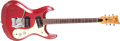 Musical Instruments:Electric Guitars, Mid 1960s Mosrite The Ventures Model Candy Apple Red Solid Body Electric Guitar, No Serial Number. ...