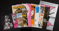 "The Beast and the Vixens Lot (Sophisticated Films, 1974). Pressbooks (10) (Multiple Pages, 11"" X 17"" and Vario..."