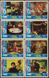 "Confessions of an Opium Eater (Allied Artists, 1962). Lobby Card Set of 8 (11"" X 14""). Exploitation. ... (Tota..."