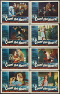 "Movie Posters:Crime, Count the Hours (RKO, 1953). Lobby Card Set of 8 (11"" X 14"").Crime.. ... (Total: 8 Items)"