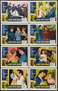 "Movie Posters:Crime, A Date With Death (Pacific International, 1959). Lobby Card Set of 8 (11"" X 14""). Crime.. ... (Total: 8 Items)"