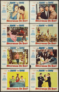 "Movie Posters:Comedy, Hollywood or Bust (Paramount, 1956). Lobby Card Set of 8 (11"" X14""). Comedy.. ... (Total: 8 Items)"