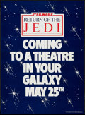 """Movie Posters:Science Fiction, Return of the Jedi (20th Century Fox, 1983). British Double Crown(21.5"""" X 29.5""""). Advance. Science Fiction.. ..."""
