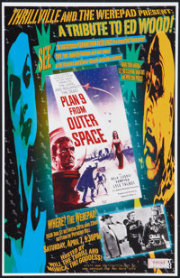 """Plan 9 from Outer Space (Strephon, R-2001). Limited Edition Poster (11"""" X 17""""). Science Fiction"""