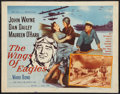 """Movie Posters:Drama, The Wings of Eagles (MGM, 1957). Half Sheet (22"""" X 28""""). Drama.. ..."""