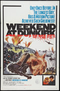 "Movie Posters:War, Weekend at Dunkirk Lot (20th Century Fox, 1966). One Sheets (2)(27"" X 41""). Regular and New Art Styles, and Souvenir Progra...(Total: 4 Items)"