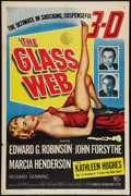 "The Glass Web (Universal International, 1953). One Sheet (27"" X 41""). 3-D Style. Crime"