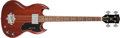 Musical Instruments:Bass Guitars, 1967 Gibson EB-0 Cherry Solid Body Electric Bass Guitar, #320515. ...