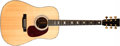 Musical Instruments:Acoustic Guitars, 1997 Martin D-41 Natural Acoustic Guitar, #592912....