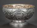 Silver Holloware, American:Bowls, A LATE VICTORIAN SILVER AND SILVER GILT REPOUSSÉ PUNCH BOWL .Elkington & Co., Ltd., London, England, circa 1901-1902.Marks...