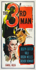 "Movie Posters:Film Noir, The Third Man (Selznick, 1949). Three Sheet (41"" X 81"").. ..."