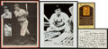 Baseball Collectibles:Others, Hank Greenberg Signed Memorabilia Lot of 3....