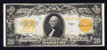 Large Size:Gold Certificates, Fr. 1187 $20 1922 Gold Certificate About New.. ...