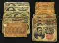 Fractional Currency:First Issue, A Baker's Dozen Fractionals.. ... (Total: 13 notes)