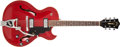 Musical Instruments:Electric Guitars, 1966 Guild Starfire III Cherry Semi-Hollow Body Electric Guitar,#EK699. ...