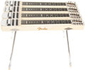 Musical Instruments:Lap Steel Guitars, 1957 Fender Stringmaster Four Neck Blonde Console Steel Guitar,#-02403. ...
