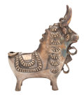Silver Smalls, THE COLLECTION OF PAUL GREGORY AND JANET GAYNOR. A PERUVIANSILVER BULL. Maker unidentified, Peru, circa 1950. Marks:...