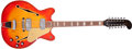 Musical Instruments:Electric Guitars, 1966 Fender Coronado XII Sunburst Semi-Hollow Body 12-StringElectric Guitar, #181545....