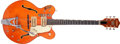 Musical Instruments:Electric Guitars, 1968 Gretsch Chet Atkins Nashville Orange Semi-Hollow Body ElectricGuitar, #108538....