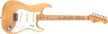 Musical Instruments:Electric Guitars, 1954 Fender Stratocaster Stripped to Natural Solid Body ElectricGuitar, #868....