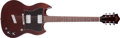 Musical Instruments:Electric Guitars, 1975 Guild S-90 Walnut Solid Body Electric Guitar, #78725. ...