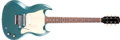 Musical Instruments:Electric Guitars, 1968 Gibson Melody Maker SG Pelham Blue Solid Body Electric Guitar,#900201....