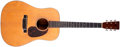 Musical Instruments:Acoustic Guitars, 1940 Martin D-18 Natural Acoustic Guitar, #76049....