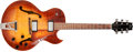 Musical Instruments:Electric Guitars, 1995 Heritage H-575 Almond Sunburst Hollow Body Electric Guitar,#L0550S. ...