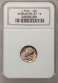 Mercury Dimes: , 1916 10C MS67 Full Bands NGC. NGC Census: (72/12). PCGS Population (90/8). Mintage: 22,180,080. Numismedia Wsl. Price for p...