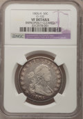 Early Half Dollars, 1805/4 50C --Improperly Cleaned--NGC Details. VF. O-102. NGCCensus: (5/455). PCGS Population (16/106). Numismedia Wsl. Pr...