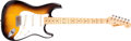 Musical Instruments:Electric Guitars, 1957 Fender Stratocaster Sunburst Solid Body Electric Guitar,#22744. ...