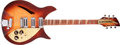 Musical Instruments:Electric Guitars, 1959 Rickenbacker 375 Capri Autumnglo/ Brown Sunburst Semi-HollowBody Electric Guitar, #3V254....