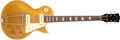 Musical Instruments:Electric Guitars, 1954 Gibson Les Paul Standard Gold Solid Body Electric Guitar,#43477. ...