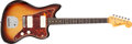 Musical Instruments:Electric Guitars, 1963 Fender Jazzmaster Sunburst Solid Body Electric Guitar, #96137....