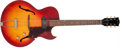 Musical Instruments:Electric Guitars, 1961 Gibson ES-125 TC Sunburst Semi-Hollow Body Electric Guitar,#24799....