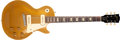 Musical Instruments:Electric Guitars, 1954 Gibson Les Paul Standard Gold Top Solid Body Electric Guitar,#42280. ...