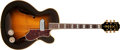 Musical Instruments:Acoustic Guitars, 1942 Epiphone Zephyr Deluxe Sunburst Acoustic Archtop Guitar, Serial # Illegible. ...