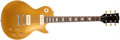 Musical Instruments:Electric Guitars, 1971 Gibson Les Paul Gold Top Solid Body Electric Guitar, #971826....